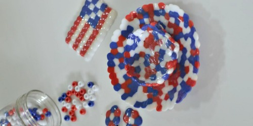 Melted Beads Craft (Great for Kids)