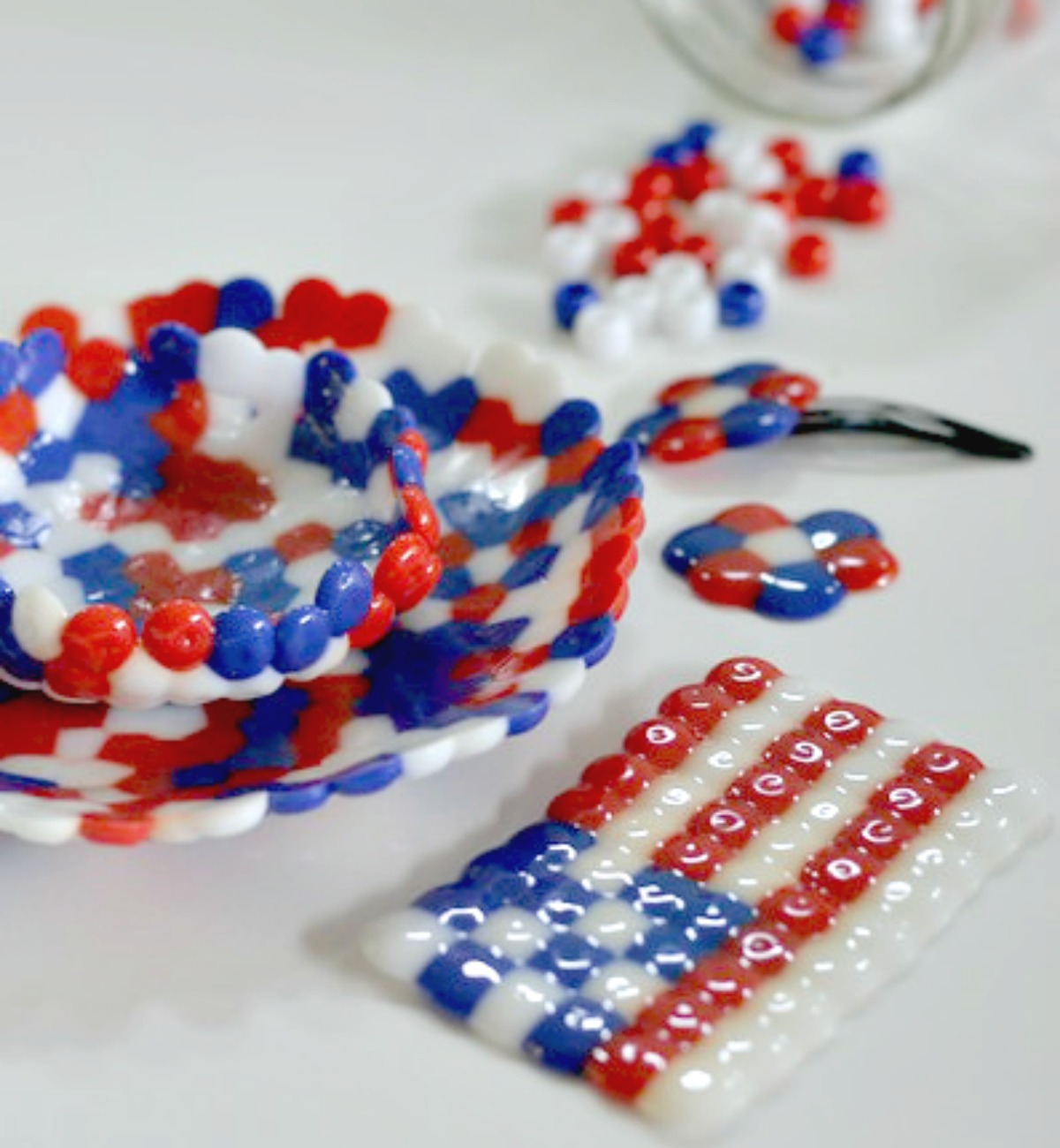 melted bead crafting