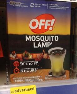 off! lamp