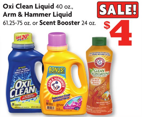 Family Dollar Oxiclean Laundry Detergent Only 1 Print