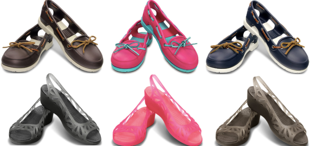 a572b3ae93a Crocs Women s Beach Line Boat Shoes AND Adrina Wedges ONLY  24.99 Shipped  (Regularly  54.99)