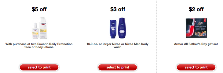 photograph relating to Eucerin Coupons Printable identified as Emphasis: Around 30 Refreshing Printable Retail outlet Coupon codes (Conserve upon Eucerin