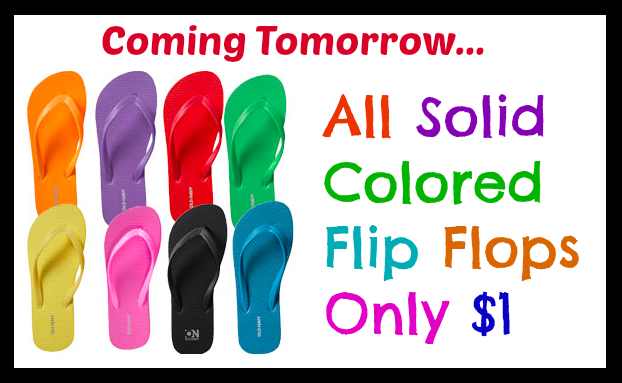 21a7905ff08859 Old Navy   1 Flip Flops Sale Tomorrow AND First 50 Customers Get FREE Pair  at Select Stores - Hip2Save