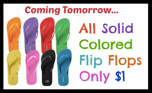 dbae0e993 Old Navy   1 Flip Flops Sale Tomorrow AND First 50 Customers Get ...