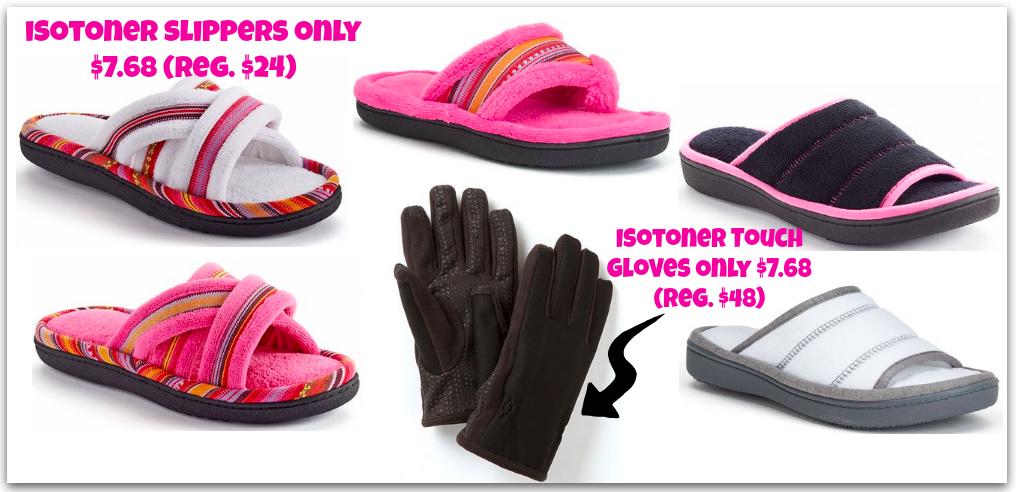 Isotoner Slippers ONLY $7.68 (Reg. $24