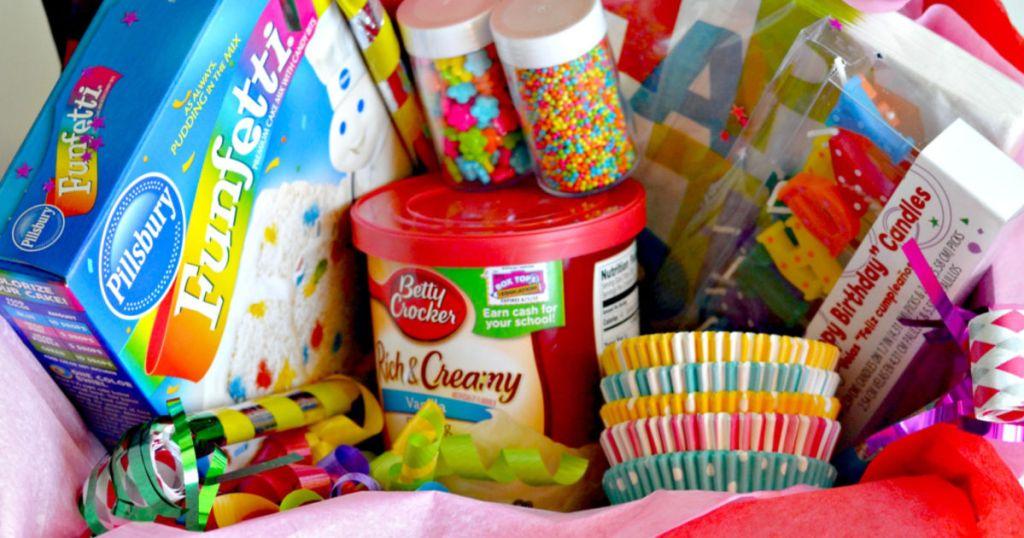 Birthday in a box DIY