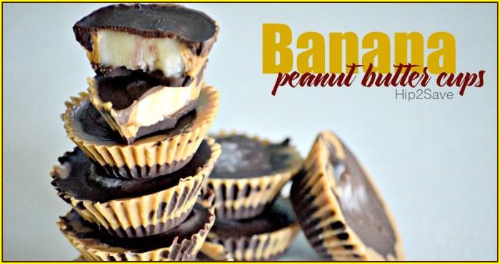 Banana Peanut Butter Cups