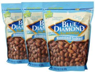 Blue Diamond Almond Bags