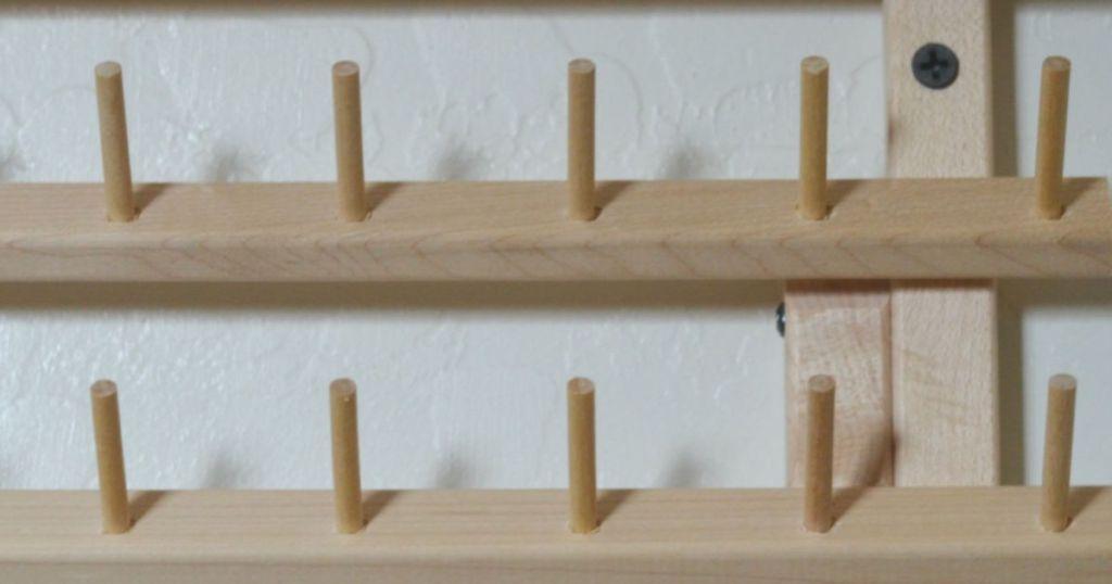 empty thread rack