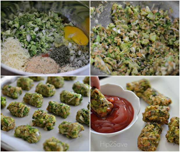 Healthy Recipe Ideas for Kids: Broccoli Tots from Hip2Save.com