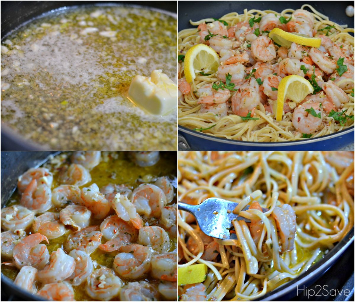 Restaurant Style Garlic and Buttery Shrimp Scampi Recipe Hip2Save.com