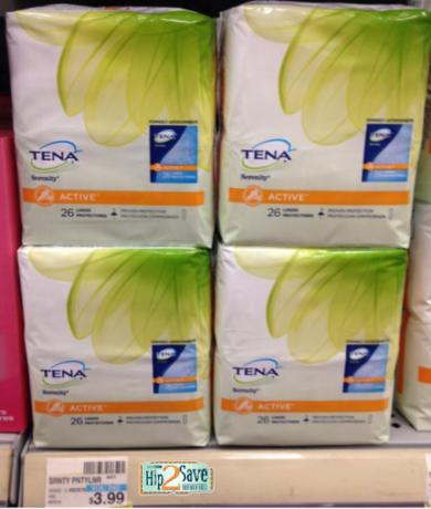 Cvs 2 Free Packs Of Tena Active Liners Hip2save