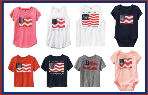c9b4b403473 Old Navy: $2.50 Flag Tees & Tanks In-Store & Online Today Only (+ Free  Shipping w/ $25 Purchase)