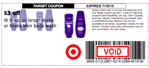 graphic relating to 3.00 Off Nivea Printable Coupon known as Large-Charge* $3/1 Nivea System Clean Focus Coupon Back again Back