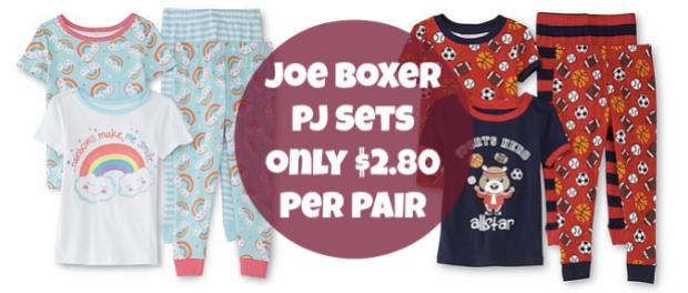 565660383fca Sears  Joe Boxer Infant   Toddler Pajamas Only  2.80 - Hip2Save