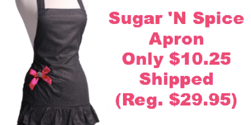 Flirty Aprons: Women's Marilyn Sugar 'N Spice Apron Only $10.25 Shipped (Regularly $29.95)