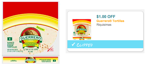 guerrero tortillas coupons
