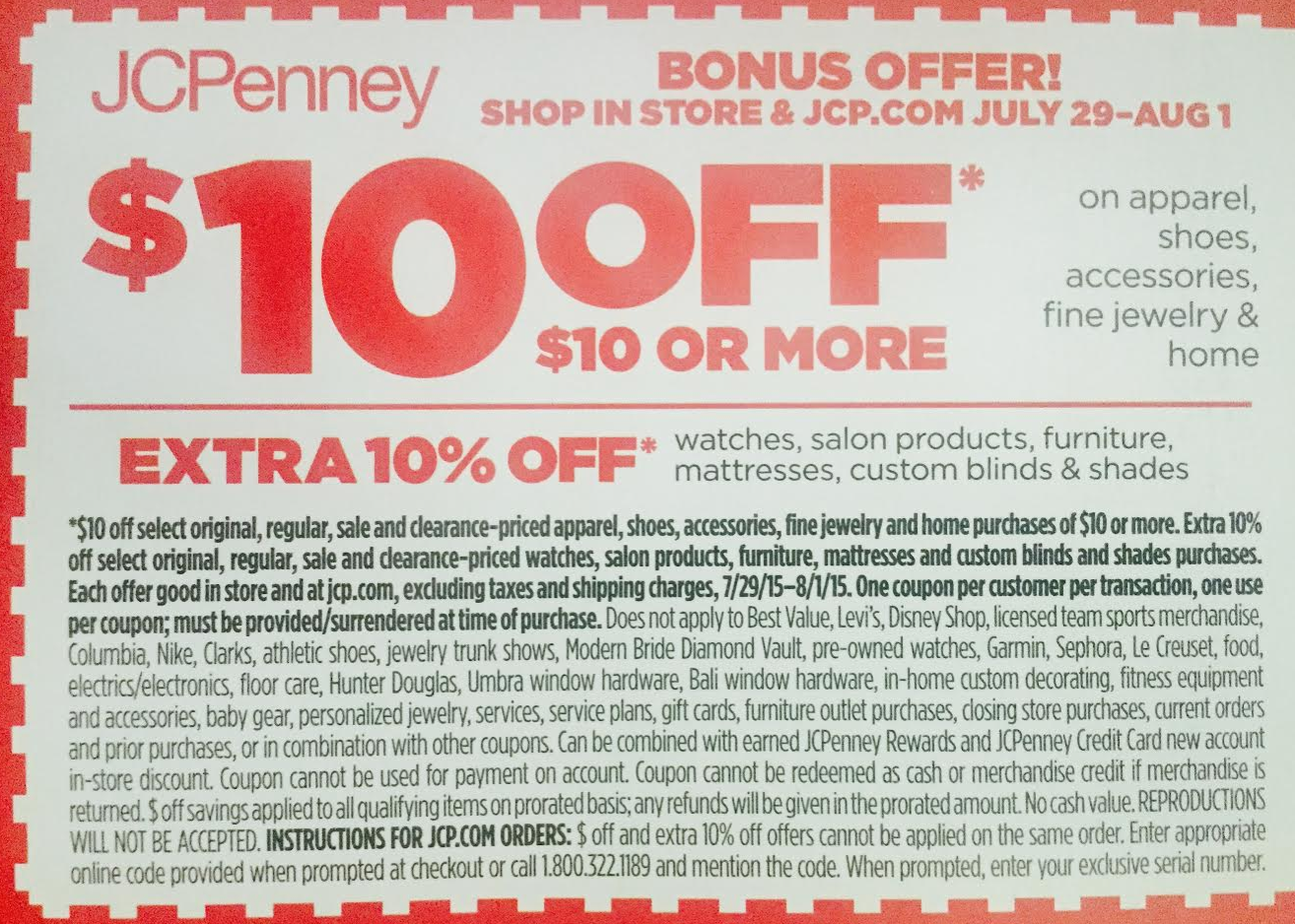 Jcpenney Jewelry Coupon