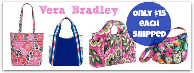 40ba060efb Vera Bradley Small Colorblock Tote  19.99 (reg.  50) Vera Bradley Abby  Satchel  19.99 (reg.  68) Vera Bradley Clare Crossbody Bag as low as  19.99  (reg.