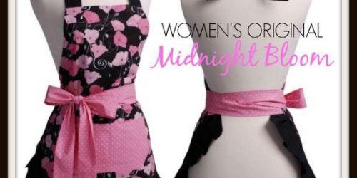 Flirty Aprons: Women's Original Midnight Bloom Apron Only $9.99 Shipped (Regularly $34.95)