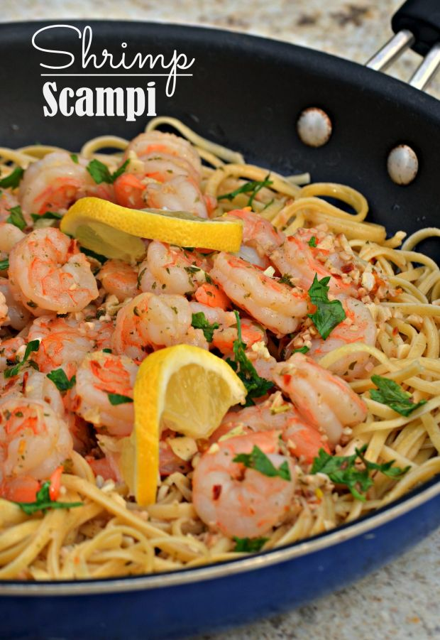 Shrimp Scampi (Easy AND Quick Meal Idea)