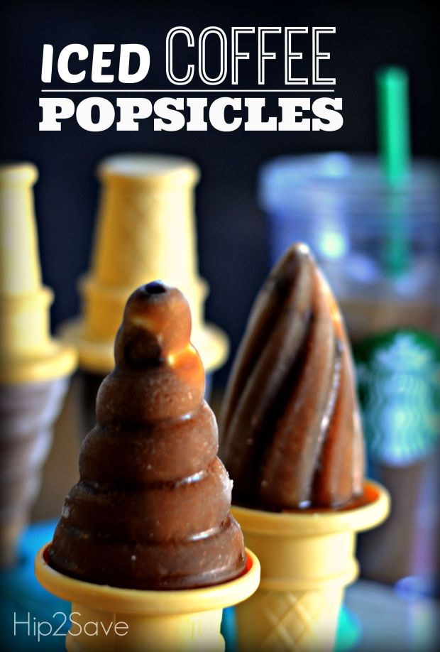 Summer Iced Coffee Popsicles Hip2Save.com