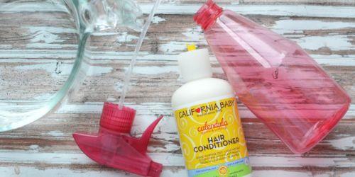 Homemade Hair Detangler Spray (Only 2 Ingredients)