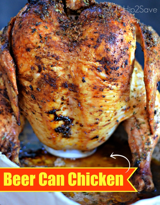 Best Ever Beer Can Chicken Hip2Save