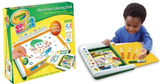 Crayola Color Wonder Mess Free Coloring Desk Only $13.59 ...