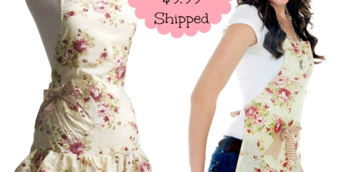 Flirty Aprons: Marilyn Venetian Rose Apron $9.99 Shipped (+ Cute Red Apron Just $8 – Today Only)