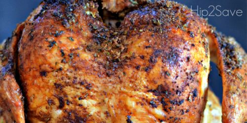 Easy Roasted Beer Can Chicken