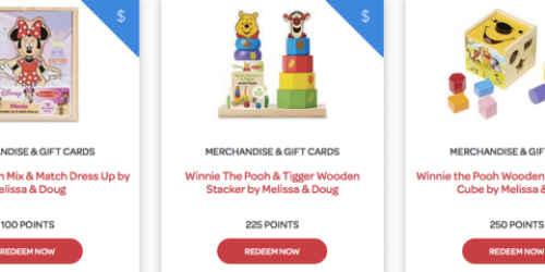 Huggies Rewards Members: As Little As 100 Points Gets You a FREE Melissa & Doug Toy