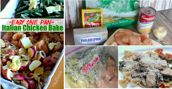 easy meals with seasoning mix