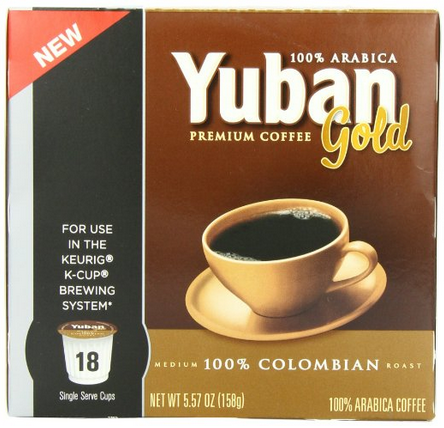 Amazon Yuban Colombian Coffee K Cup Packs 18 Count Only