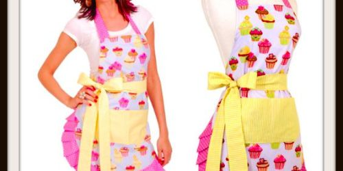 Flirty Aprons: Women's Original Frosted Cupcake Apron Only $9.99 Shipped (Regularly $34.95)