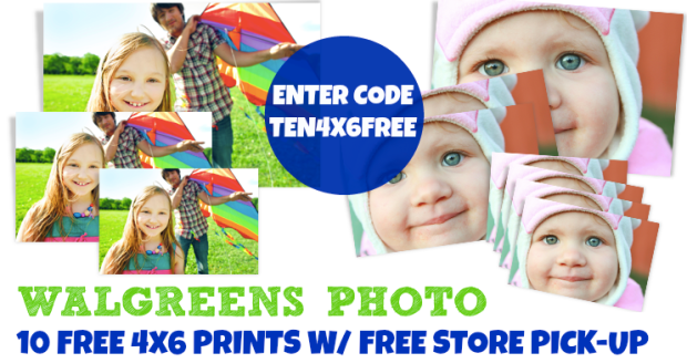 Walgreens 10 Free 4x6 Prints Free Store Pick Up Hip2save