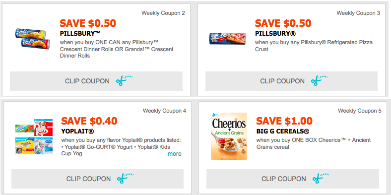 graphic about Yoplait Printable Coupon named Contemporary Printable Discount codes: Help save upon Pillsbury, Cheerios, Yoplait