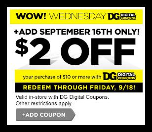 Dollar General 2 Off 10 In Store Purchase Digital Coupon Must Load Today Hip2save