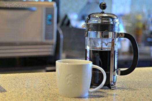 24 oz. Starbucks French Press Coffee