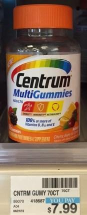 Centrum Gummies CVS