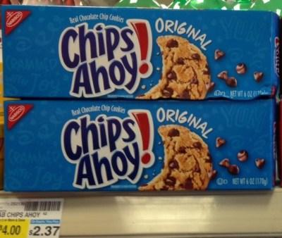 Chips Ahoy 6 oz. CVS