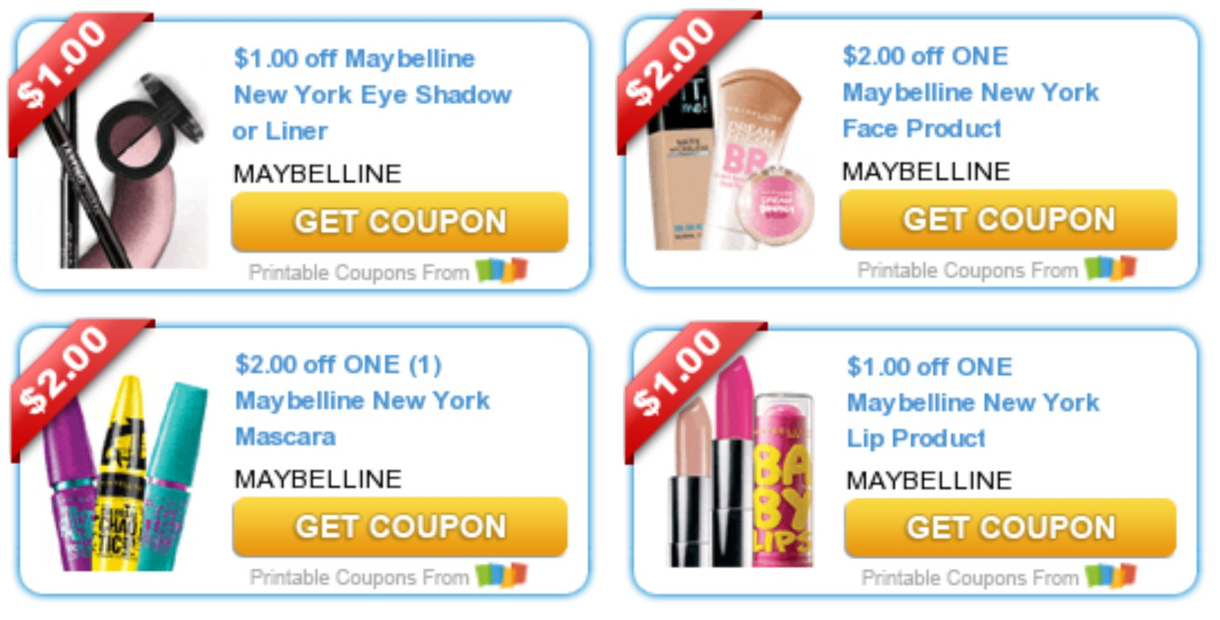 photo relating to Printable Maybelline Coupons identified as 4* Maybelline Coupon codes RESET \u003d Amazing Make-up Specials at