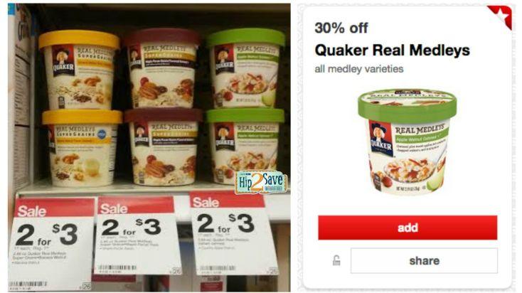 Target Quaker Real Medleys