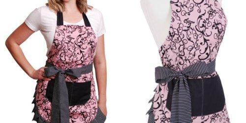 Flirty Aprons: Women's Original Chic Pink Apron ONLY $9.99 Shipped (Regularly $34.95)