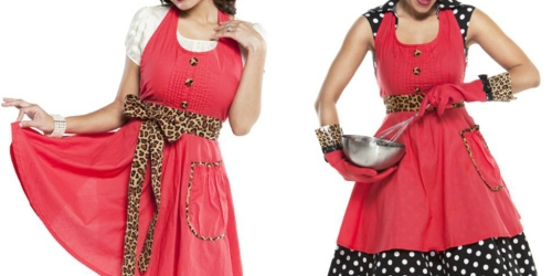 Flirty Aprons: Women's Lindy Leopard Apron Only $9.99 Shipped (Regularly $29.95)