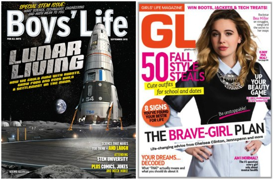 Boys' and Girls' Life Magazines