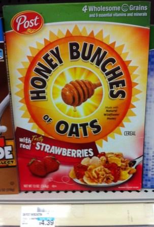 Honey Bunches of Oats CVS