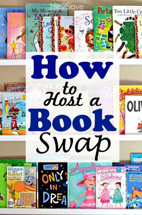 Host a Book Swap by Hip2Save.com