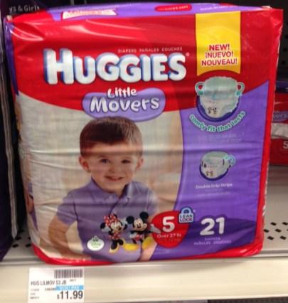 Huggies Little Movers CVS