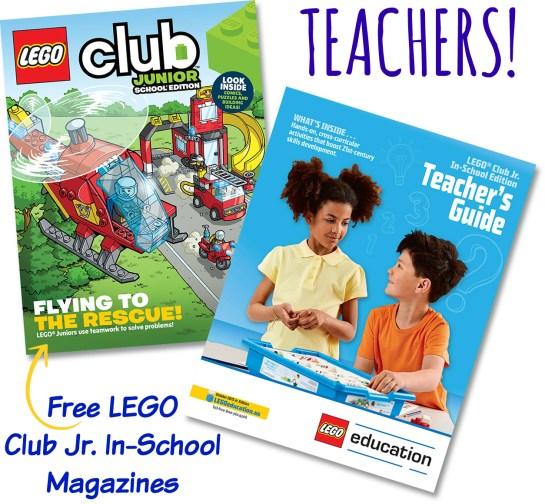 Free Lego magazine for Teachers
